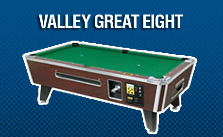 Automatic Coin Vending Pool Tables - Valley pool table models